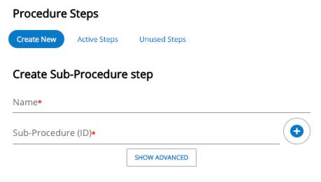 Sub-Procedure